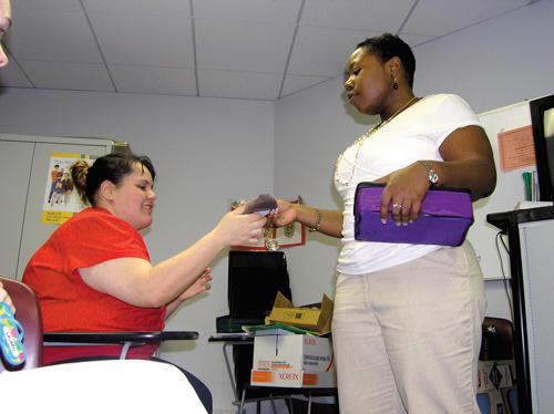 Lauren Jones: state�s top health educator promotes prevention