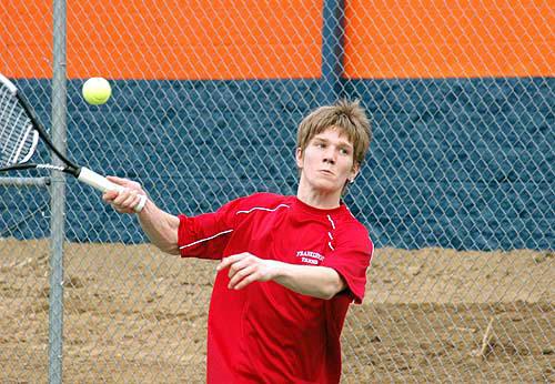 Franklinton, Louisburg joust on tennis court