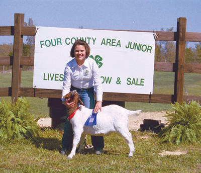 Hard work pays off for 4-H�ers at annual show