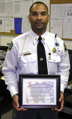 Dunston named N.C. Officer of the Year