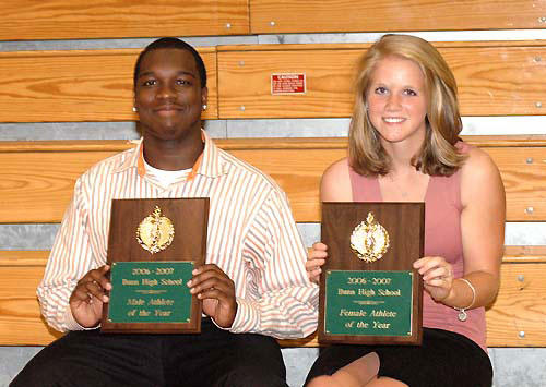 Bunn High salutes its best at Athletic Banquet