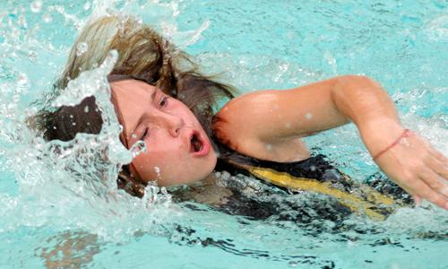 Finley YMCA flies past Stingrays in pool action