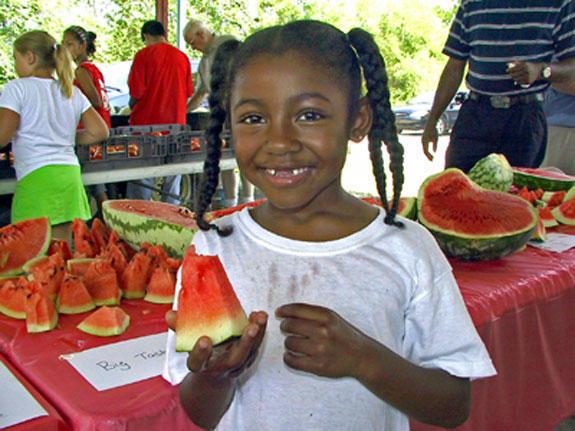 Melon Mania: Annual watermelon event sweet & tasty