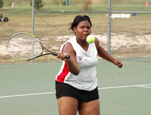 Lady Rams score tennis victory against Bunn