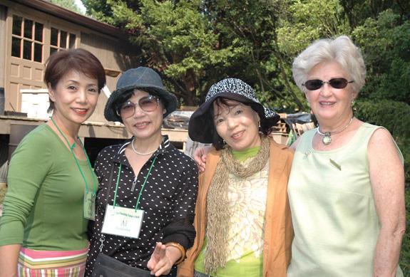 Japanese visitors