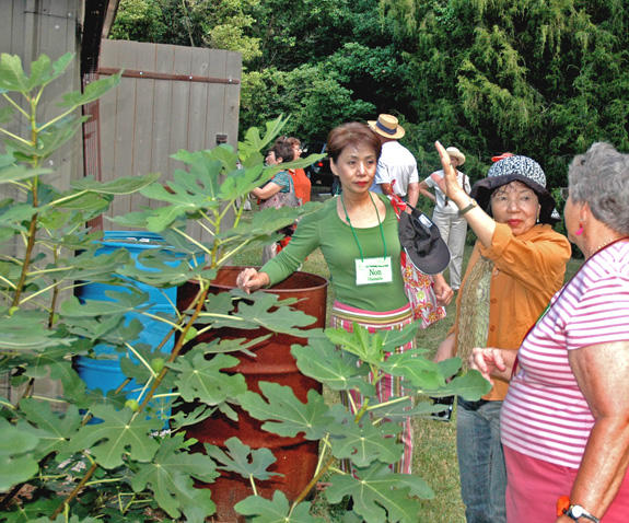 Japanese delegation visits