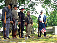 Confederate soldiers are remembered