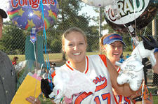 Louisburg High honors lone star as part of Senior Night