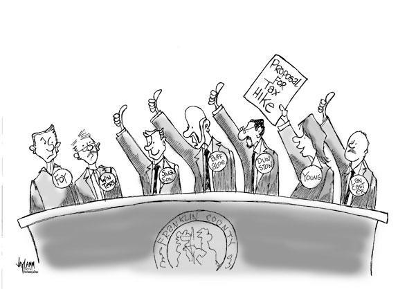 Cartoon Caption Challenge for 11-07-2007
