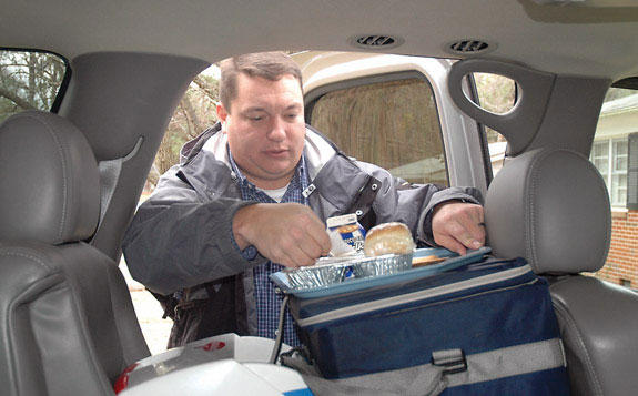 Meals on Wheels Legacy: Friendly face comes calling