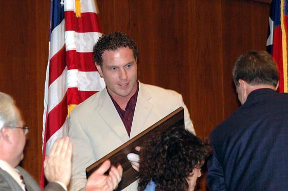 Hamilton, Willis share honors at Hot Stove Banquet
