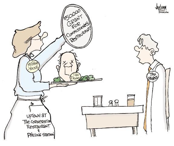 Cartoon Caption Challenge for 03-01-2008