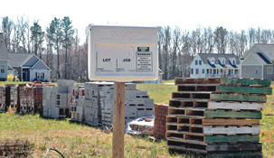 Construction slows down