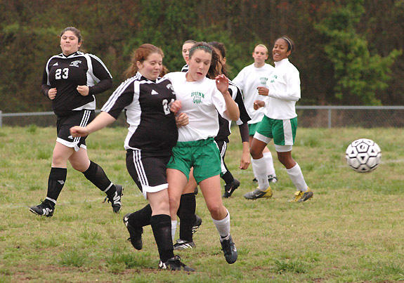 Bunn Picks Up First Soccer Victory