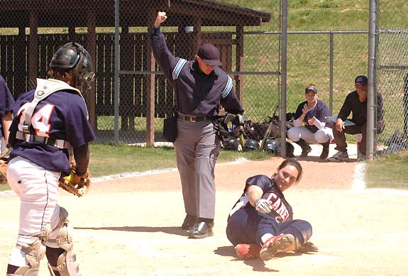LC's bats booming in sweep