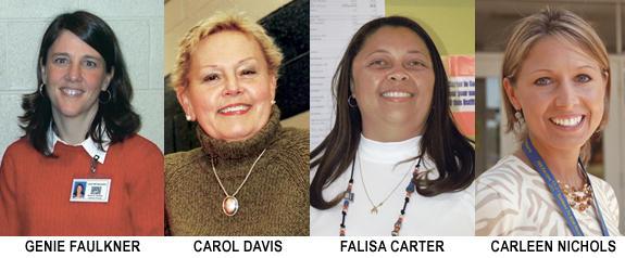 Faulkner, Davis new principals; Nichols, Carter APs