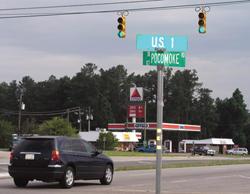 U.S. 1-Pocomoke Road light installed
